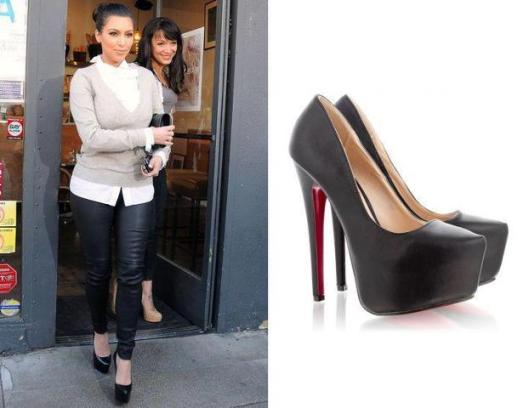 pantofii lui Kim