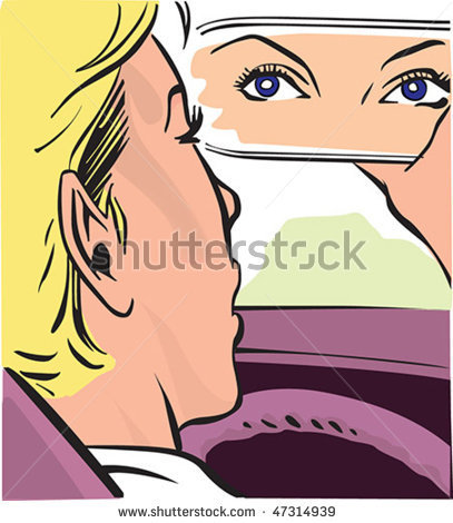 stock-vector-vector-pic-in-the-car-female-look-at-mirror-47314939