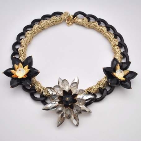 colier-black-flowers