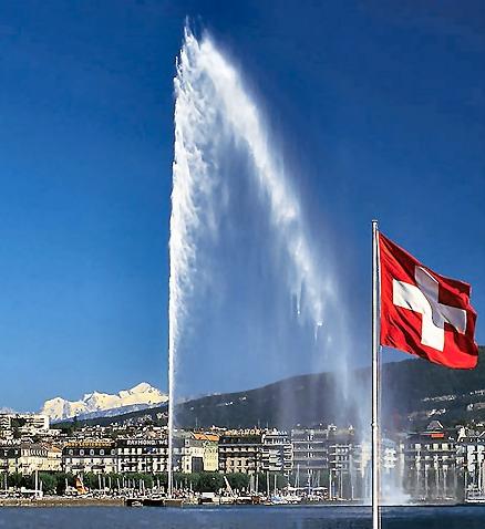 Jet-deau-Geneva