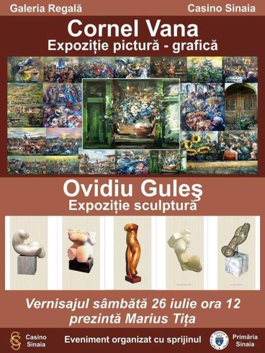 Pictorul-Cornel-Vana-şi-sculptorul-Ovidiu-Guleş-vă-invită-la-Galeria-Regală-din-Sinaia