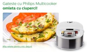 philips-multicooker-omleta-cu-ciuperci